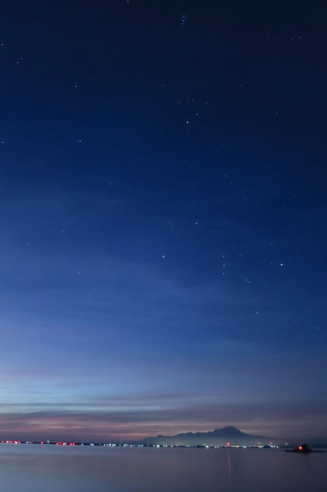 他の島で流星群